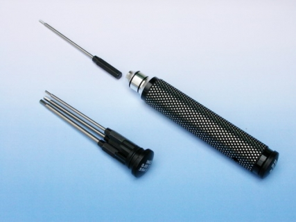 #1305B INTERCHANGEABLE HEX DRIVER SET (CARBON STEM) (1.5; 2.0; 2.5; 3.0mm)/ #1321B INTERCHANGEABLE HEX DRIVER SET (CARBON STEM) (0.05; 1/16; 5/64; 3/32inch)
