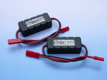 Li-Po REGULATOR 4.8V-5A W/CASING/Li-Po REGULATOR 6.0V-5A W/CASING