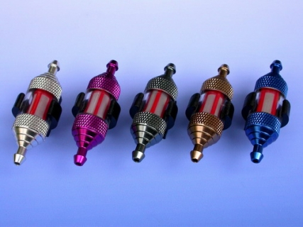 LIGHTWEIGHT RE-BUILDABLE FUEL FILTER LARGE