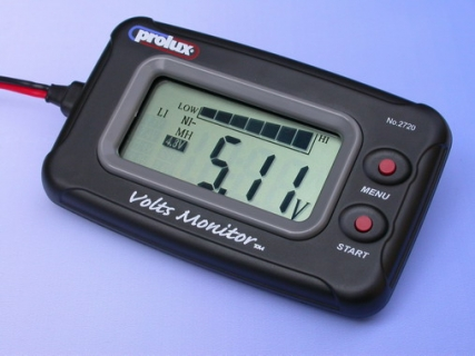 DC 3.7-20V LCD VOLTMETER