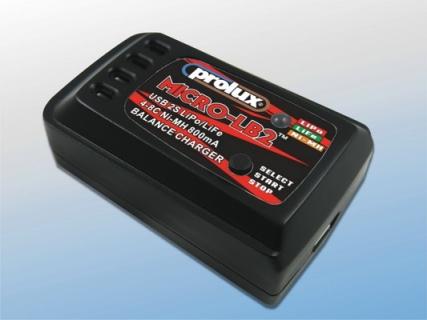USB 2S LiPo/LiFe 4-8C Ni-MH 800mA BALANCE CHARGER