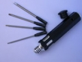 INTERCHANGEABLE HEX DRIVER SET (1.5; 2.0; 2.5; 3.0mm)