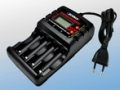 AC 1.5A Ni-MH AA/AAA CHARGER w/LCD+USB 100-240V
