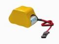 6.0V GP-2/3A 600mAH Ni-Cd BATTERY PACK (HUMP STYLE)