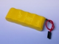 6.0V 2/3A 1100mAH Ni-MH BATTERY (FLAT TYPE)