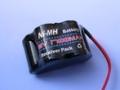 6.0V 2/3A 1700mAH Ni-MH BATTERY PACK (HUMP STYLE)