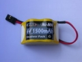 6.0V 2/3A 1500mAH Ni-MH BATTERY PACK (HUMP STYLE)