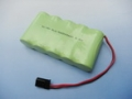 6.0V 4/5A 2000mAh Ni-MH BATTERY W/FUTABA CONNECTOR (FLAT STYLE)