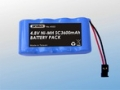 4.8V SC 3600mAH Ni-MH RECEIVER POWER SOURCE